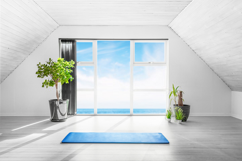 yoga room paint ideas