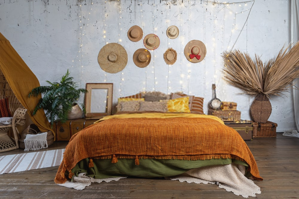 bohemian wall decor ideas